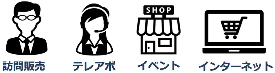一般的な販売方法