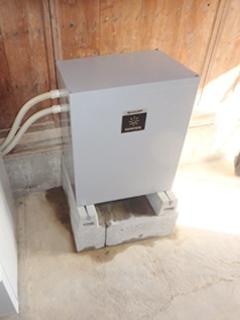 蓄電池シャープ 設置事例:広島県広島市 K様邸